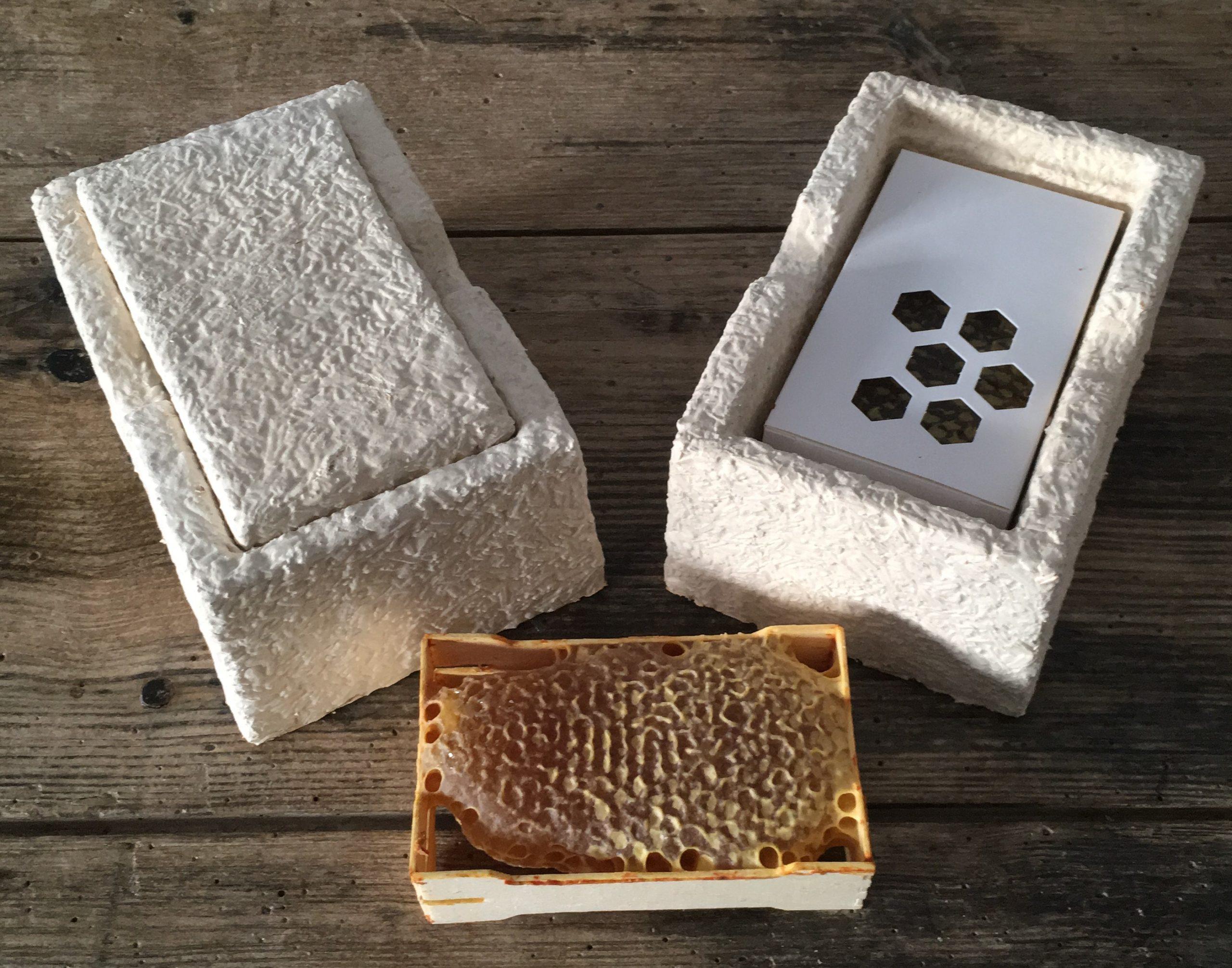 Boite cadre miel