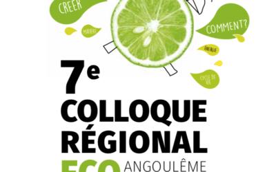Embelium participera au 7me colloque d'éco conception à Angoulème le 14 Novembre prochain